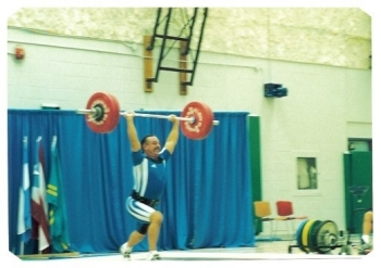 Doug Briggs USA Weightlifting Masters National Champion